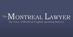 The Montreal lawyer