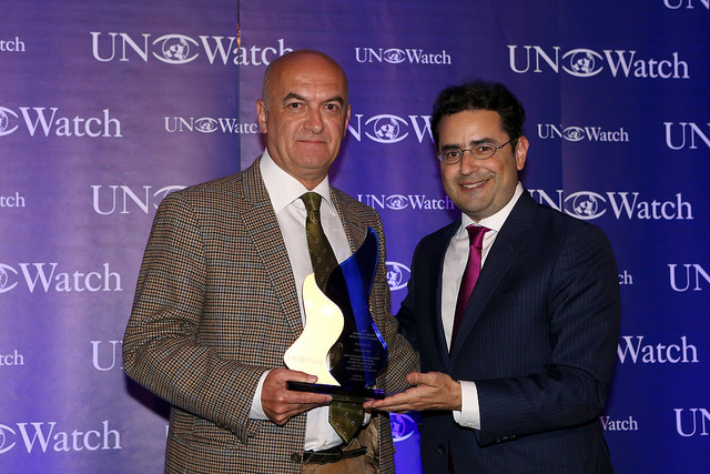 Turkish Journalist Yavuz Baydar Receives Morris B. Abram Human Rights Award