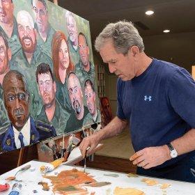 Le Monde Juridique The Montreal Lawyer George W Bush Artist