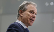 FILE - In this Wednesday, Sept. 6, 2017, file photo, New York Attorney General Eric Schneiderman speaks at a news conference in New York. Schneiderman, who had taken on high-profile roles as an advocate for women's issues and an antagonist to the policies of President Donald Trump, announced late Monday, May 7, 2018, that he would be resigning from office hours after four women he was romantically involved with accused him of physical violence in accounts published by The New Yorker. (AP Photo/Seth Wenig, File)