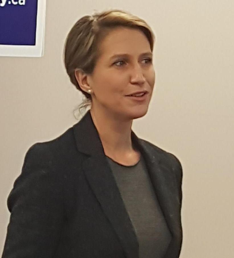 Me Caroline Mulroney, procureure générale de l'Ontario et ministre déléguée aux affaires francophones