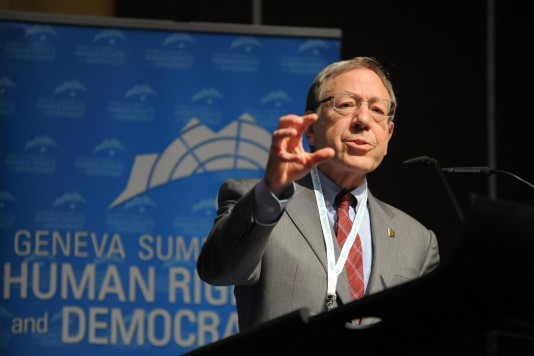 McGill honors iconic human rights lawyer Irwin Cotler