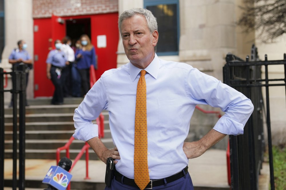 Business leaders send letter of concern to de Blasio