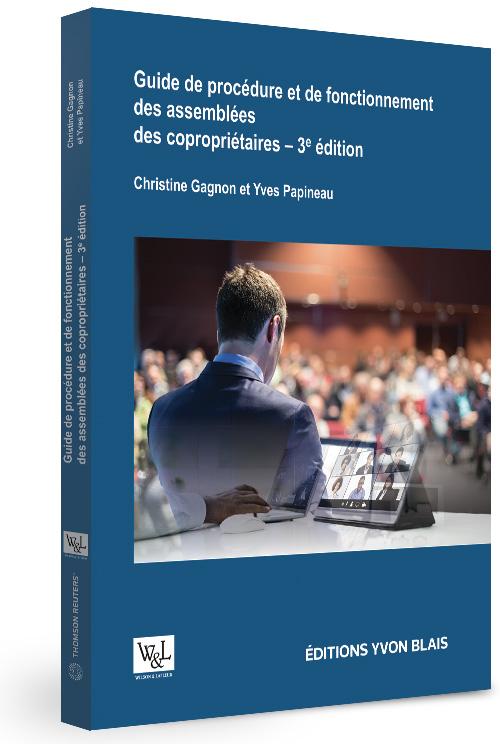 Guide de procédure et de fonctionnement des assemblées des copropriétaires